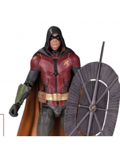 DC COLLECTIBLES ARKHAM KNIGHT SERIES 1 ROBIN ACTION FIGURE NEW